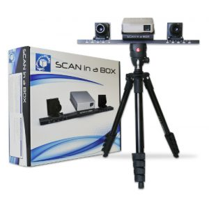 3d scanner scan in a box